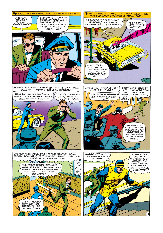 Read online Uncanny X-Men (1963) comic -  Issue #14 - 14