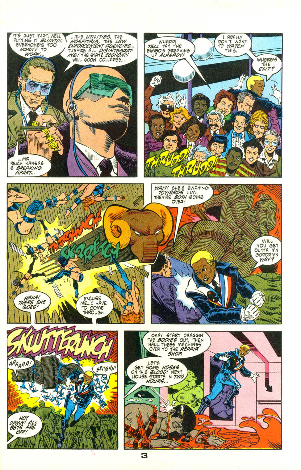 Read online American Flagg! comic -  Issue #25 - 26