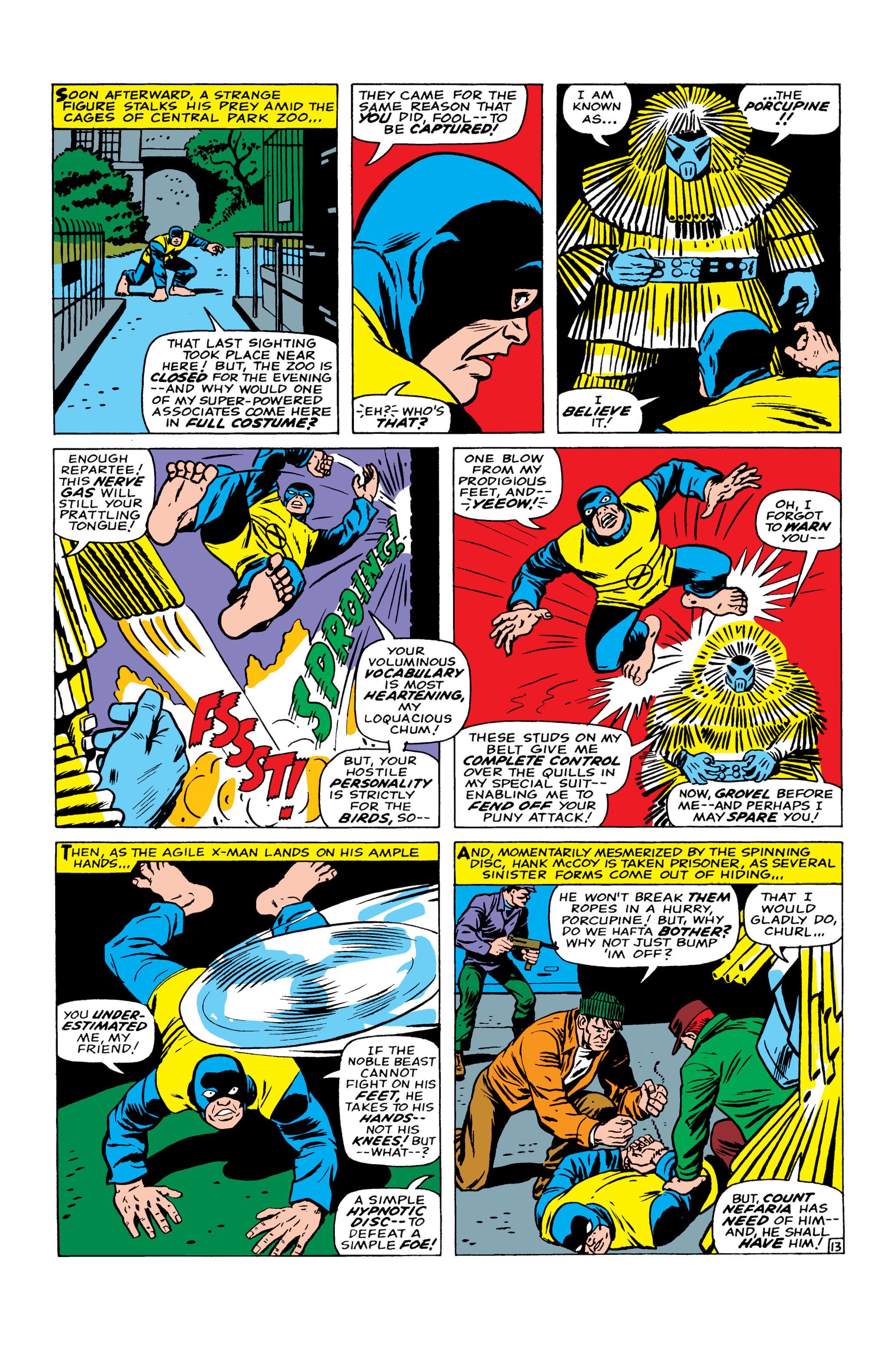 Read online Uncanny X-Men (1963) comic -  Issue #22 - 14