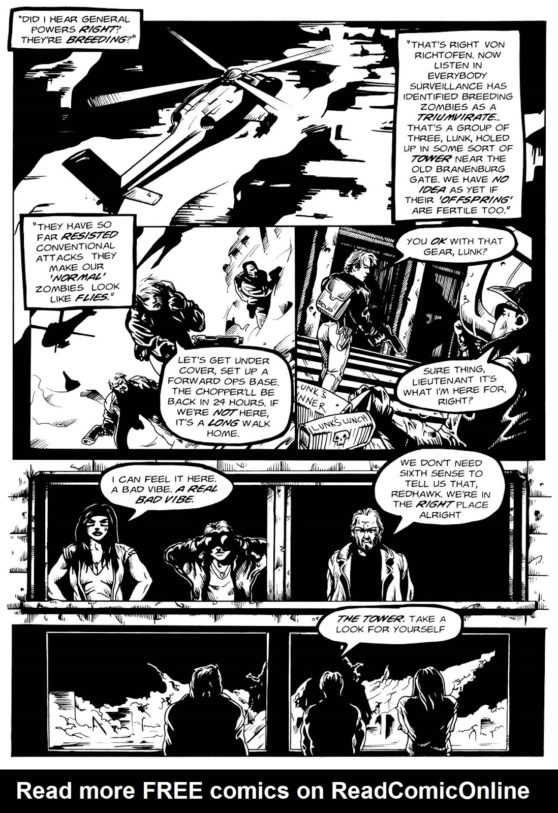 Read online Night of the Living Dead (1994) comic -  Issue #3 - 15