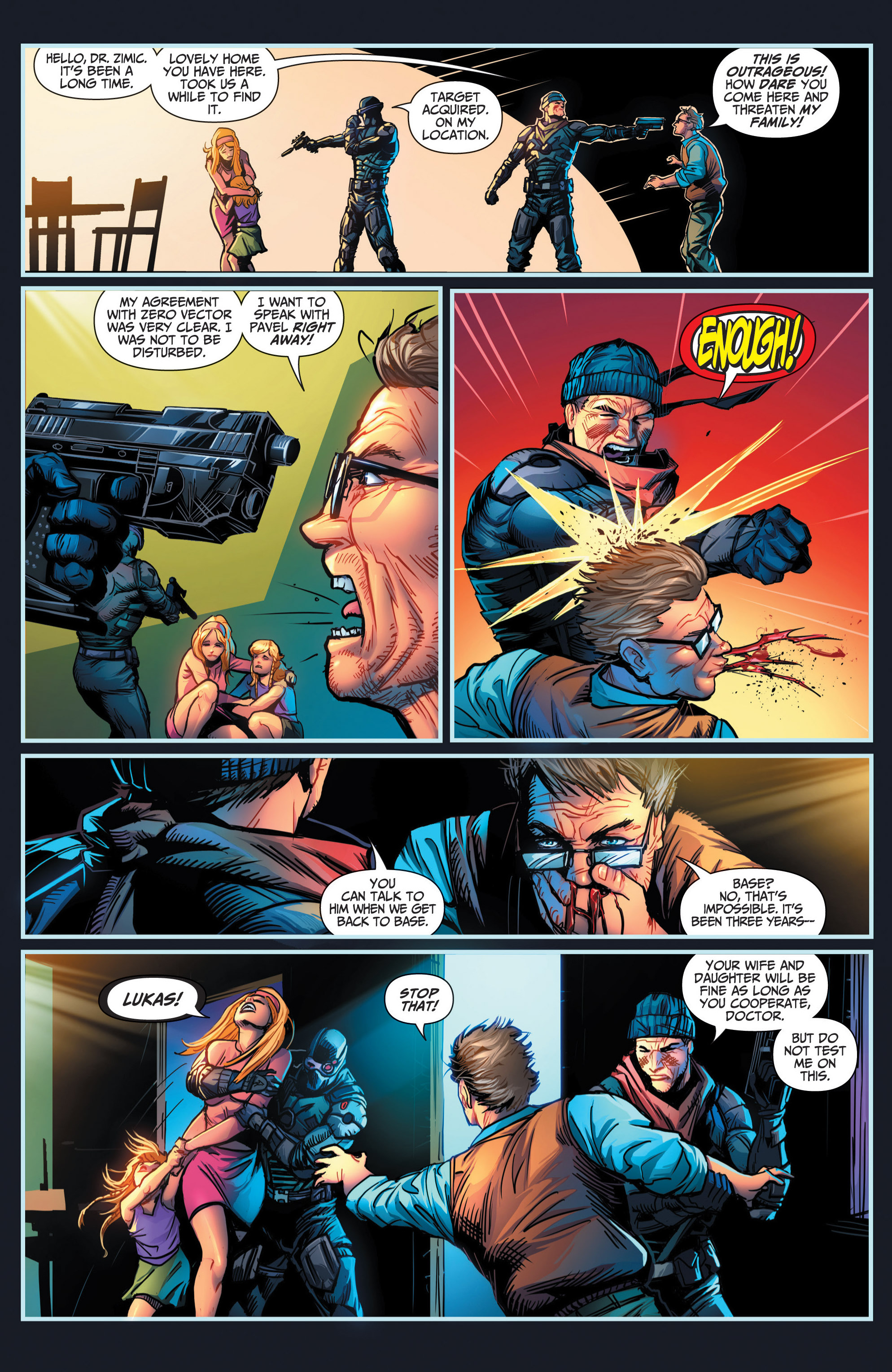 Read online Grimm Fairy Tales presents Red Agent: The Human Order comic -  Issue #6 - 4