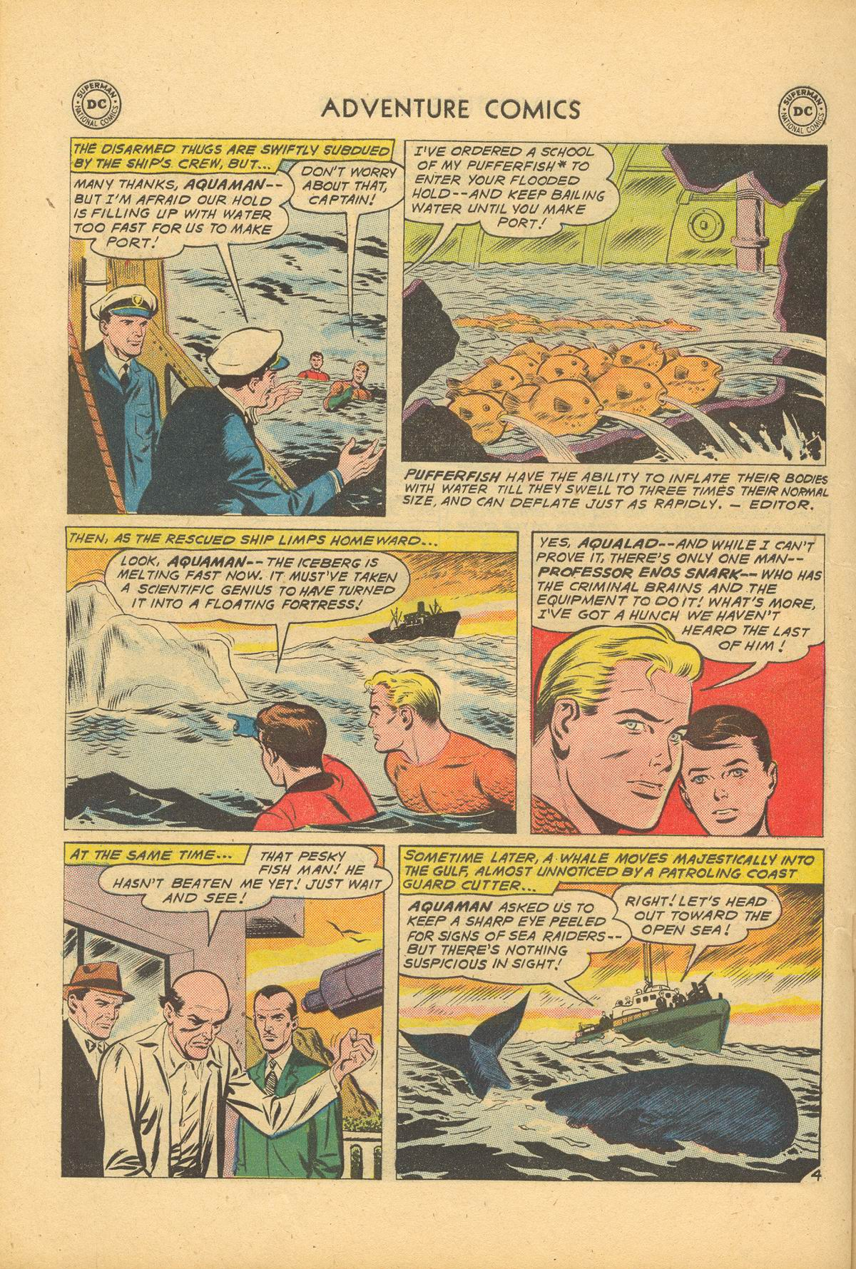 Read online Adventure Comics (1938) comic -  Issue #284 - 22