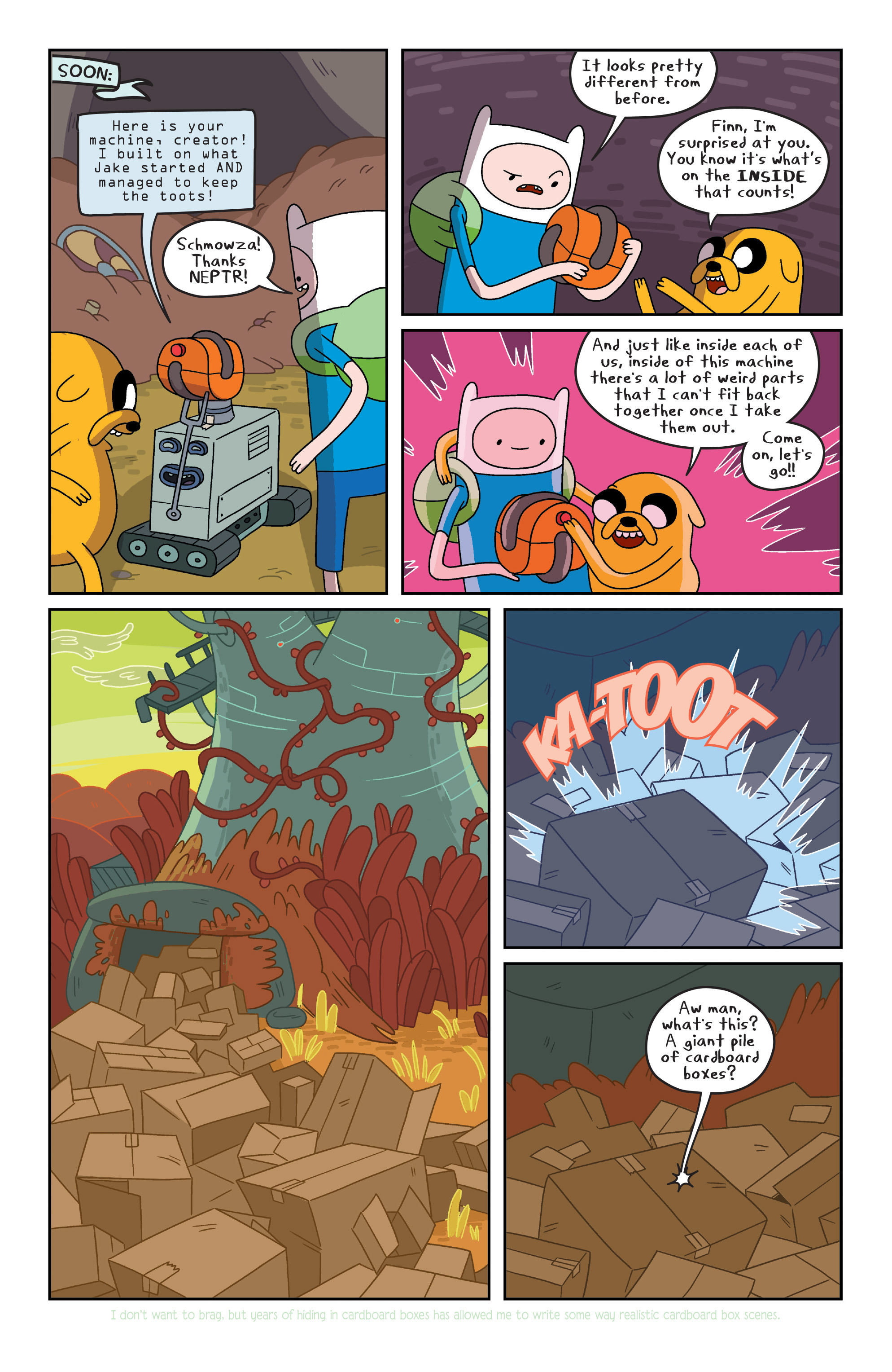 Read online Adventure Time comic -  Issue #7 - 11