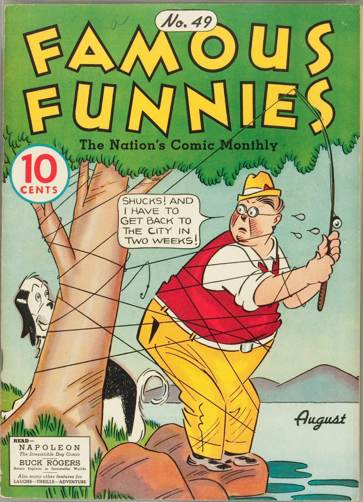 Read online Famous Funnies comic -  Issue #49 - 1