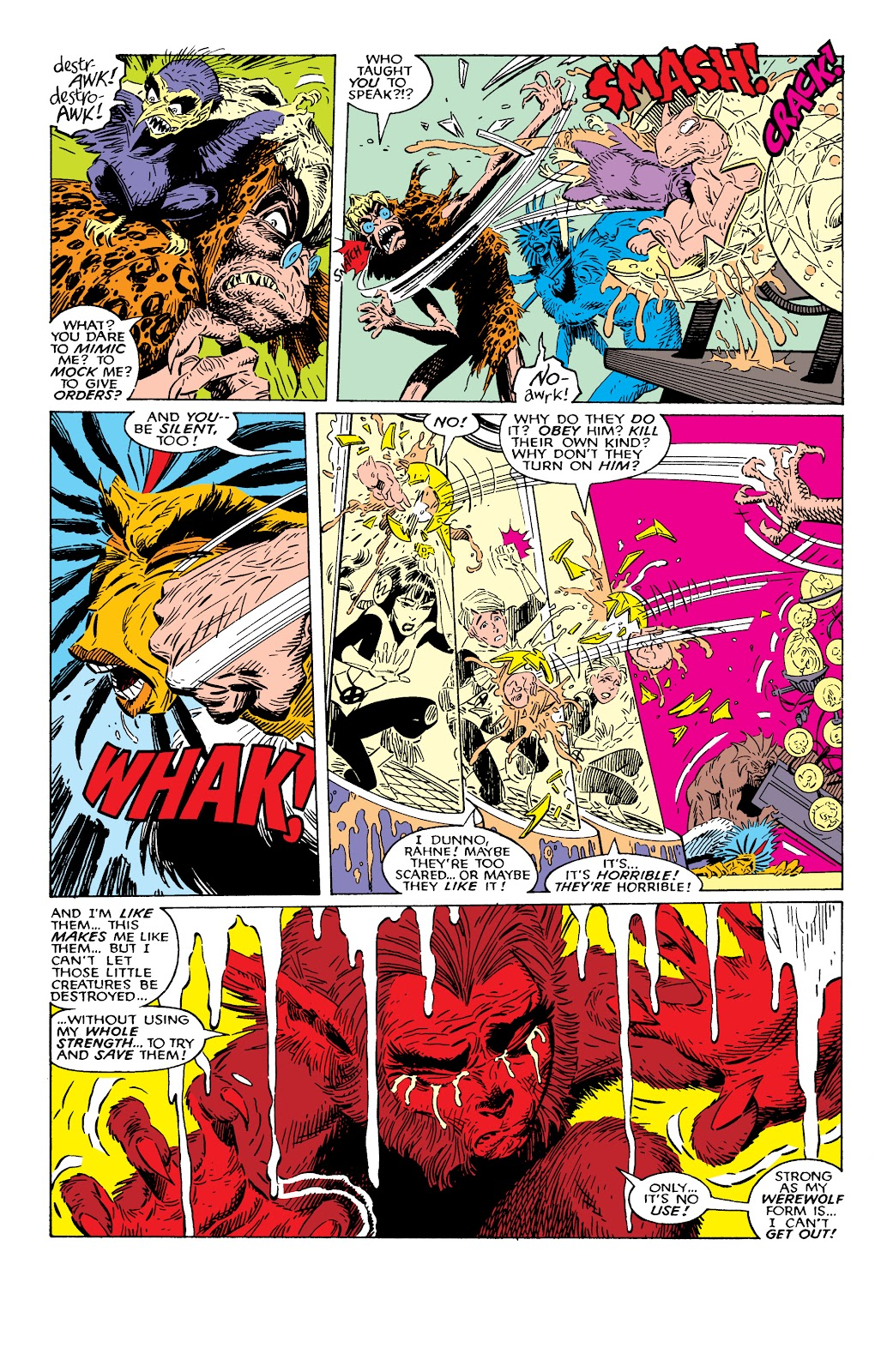 Read online X-Men Milestones: Fall of the Mutants comic -  Issue # TPB (Part 2) - 25