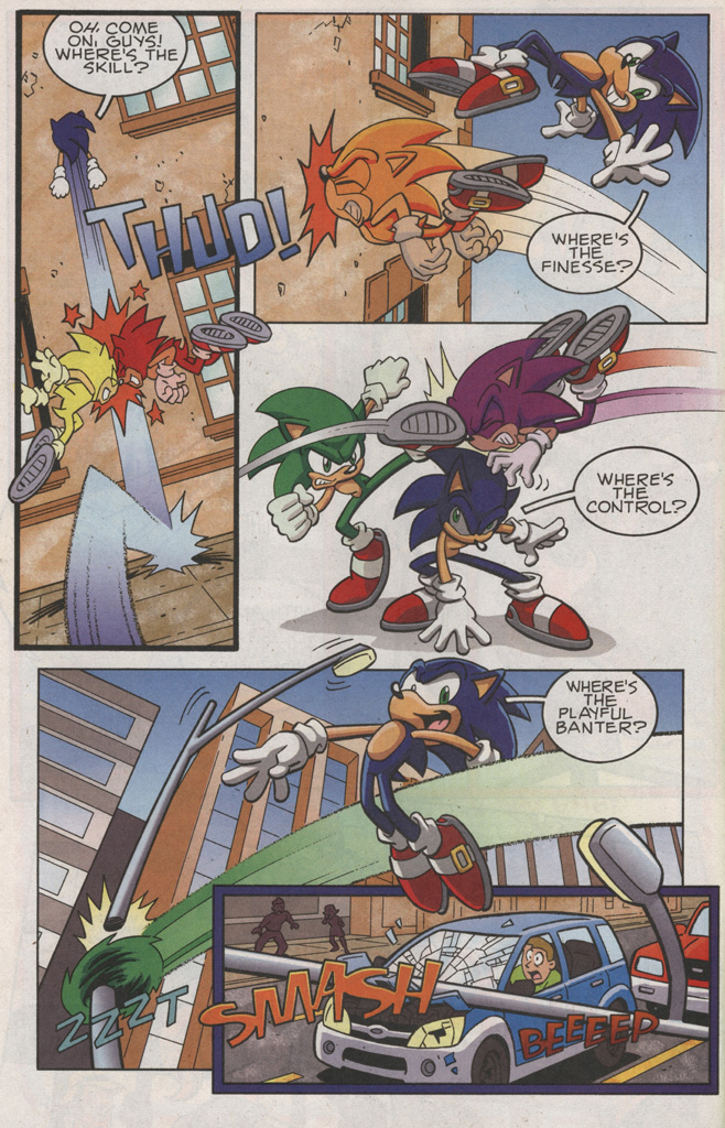 Read online Sonic X comic -  Issue #25 - 12