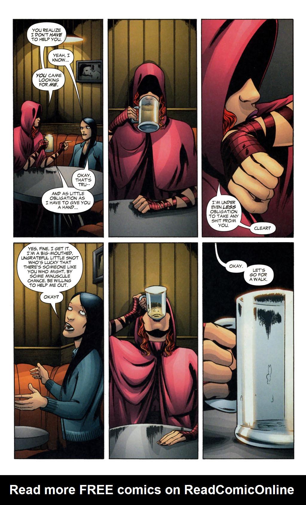 Read online Fallen Angel (2003) comic -  Issue #13 - 9