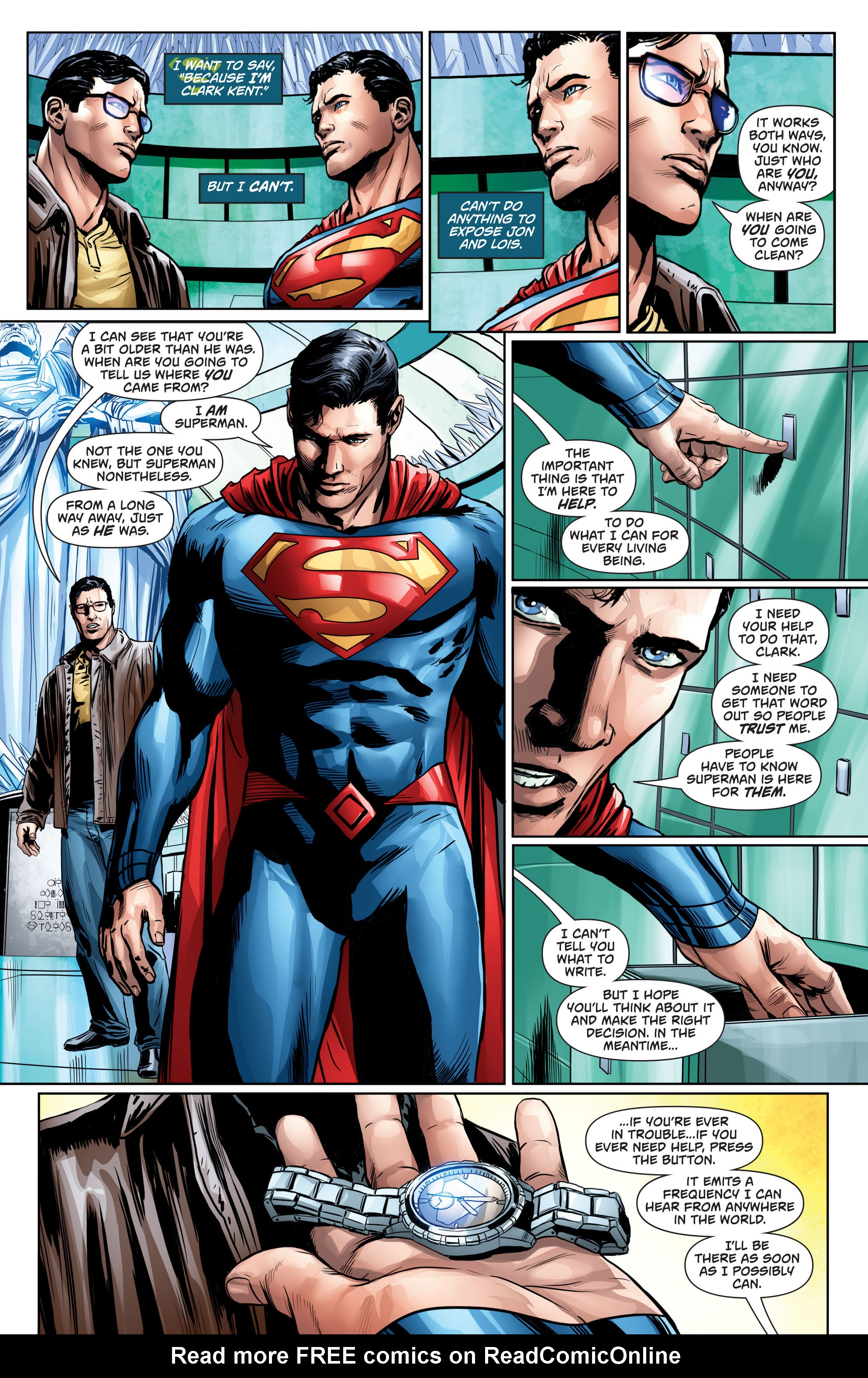 Read online Action Comics (2016) comic -  Issue #964 - 15
