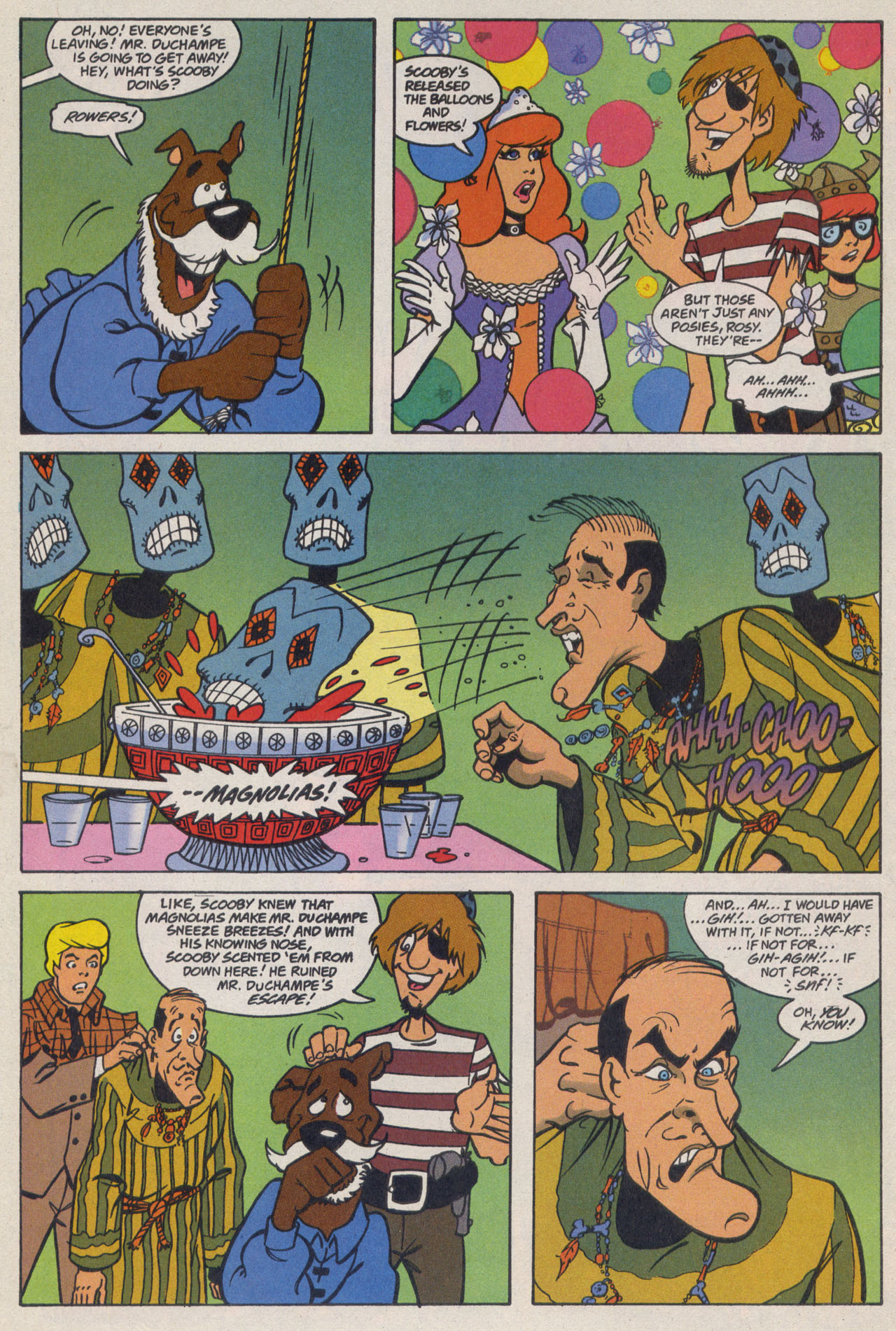 Read online Scooby-Doo (1997) comic -  Issue #9 - 19