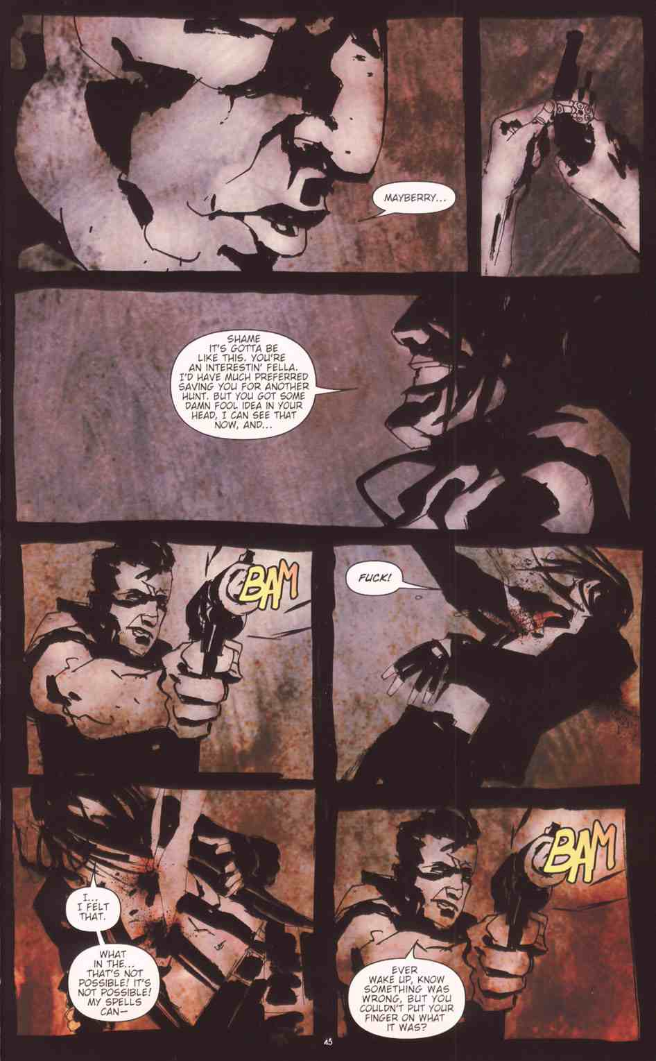 Read online Silent Hill: The Grinning Man comic -  Issue # Full - 46