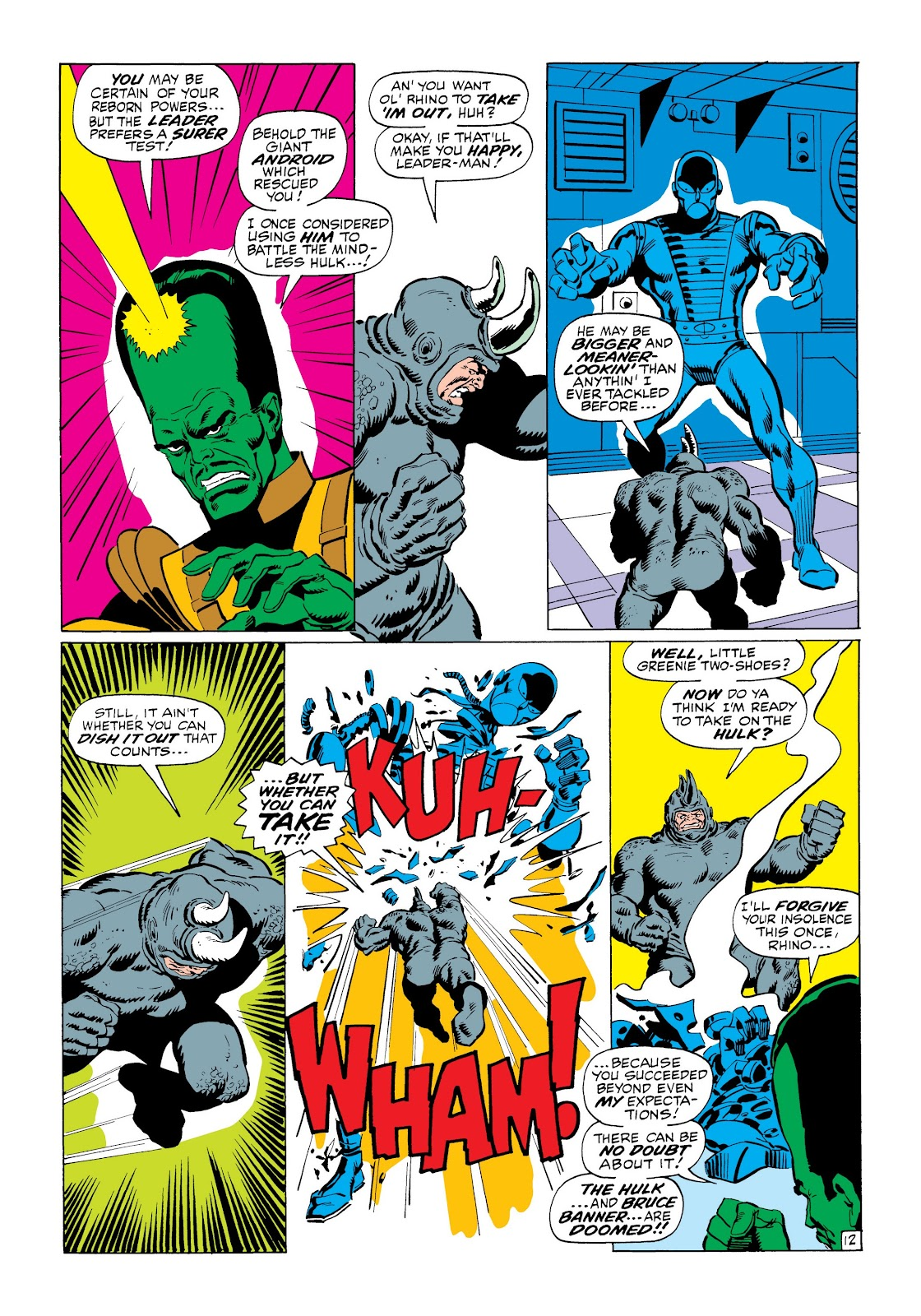 Read online Marvel Masterworks: The Incredible Hulk comic -  Issue # TPB 6 (Part 1) - 63