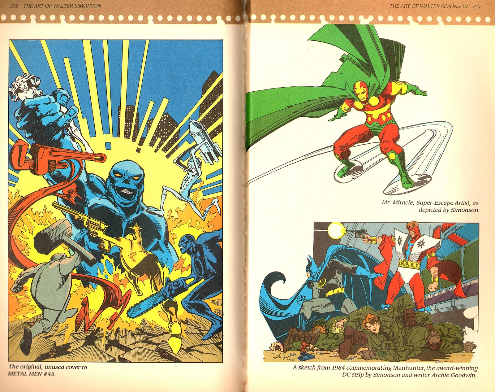 Read online The Art of Walter Simonson comic -  Issue # TPB - 105