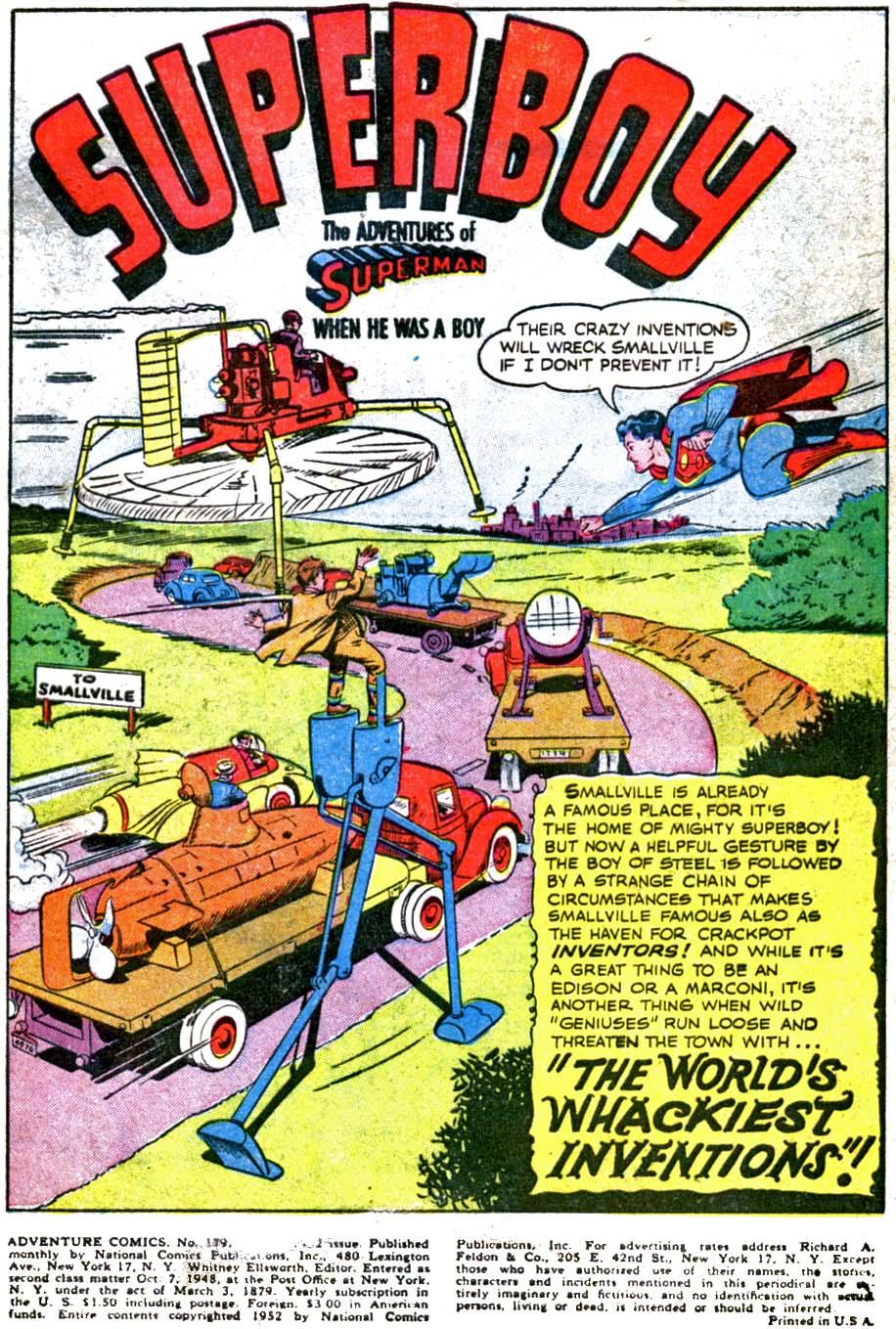 Read online Adventure Comics (1938) comic -  Issue #179 - 3