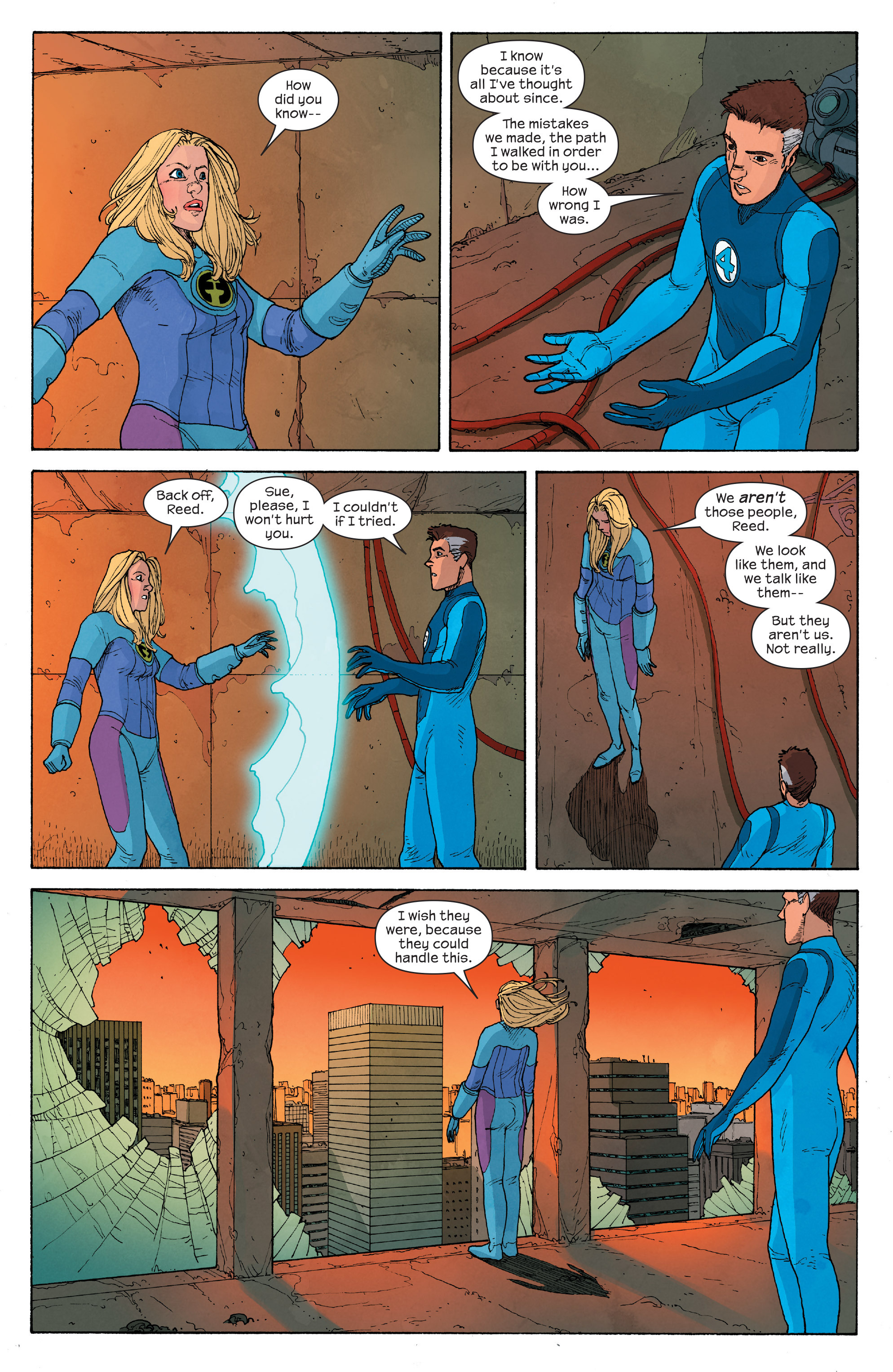 Read online Ultimate FF comic -  Issue #5 - 16