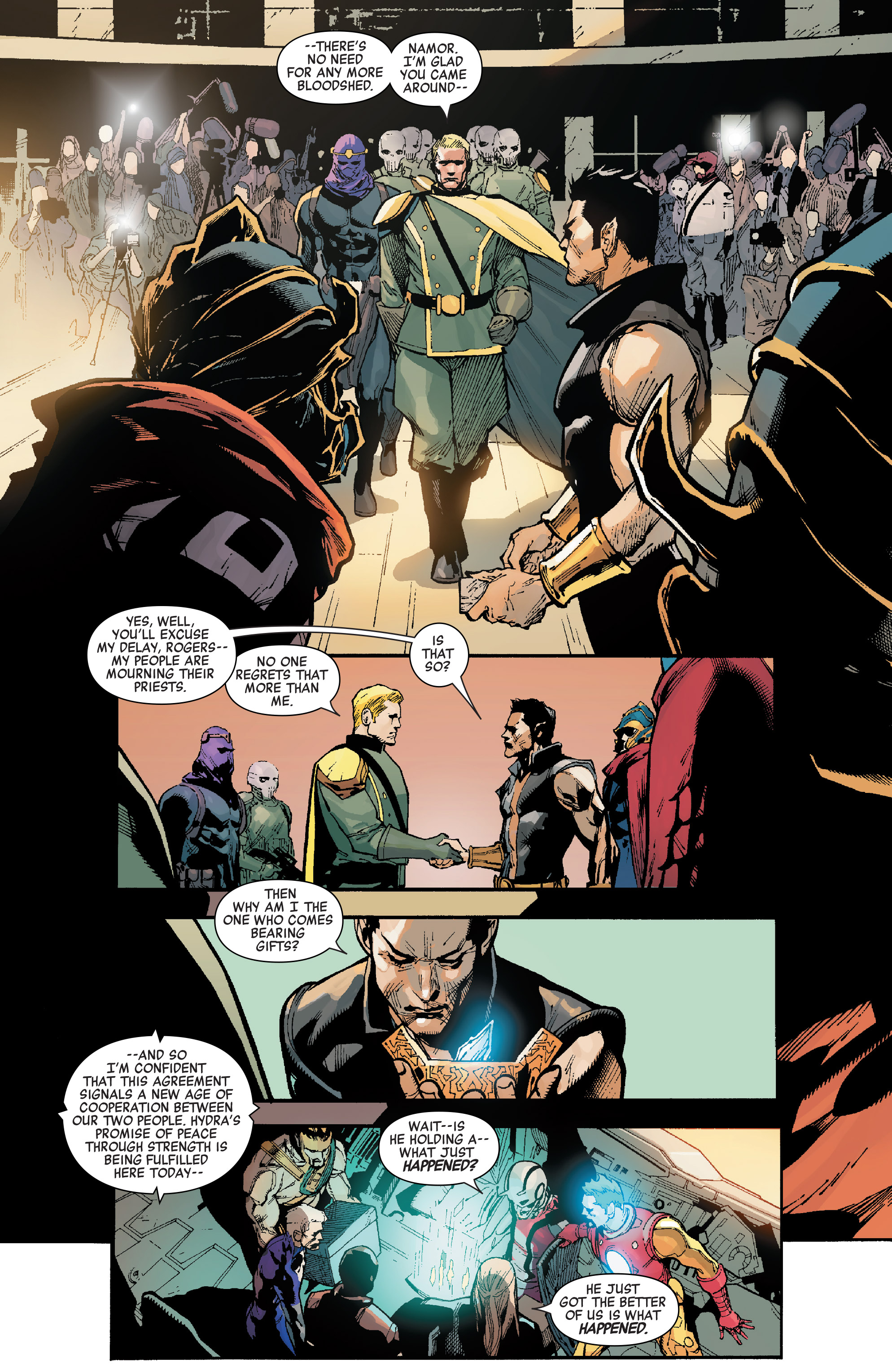 Read online Secret Empire comic -  Issue #4 - 35
