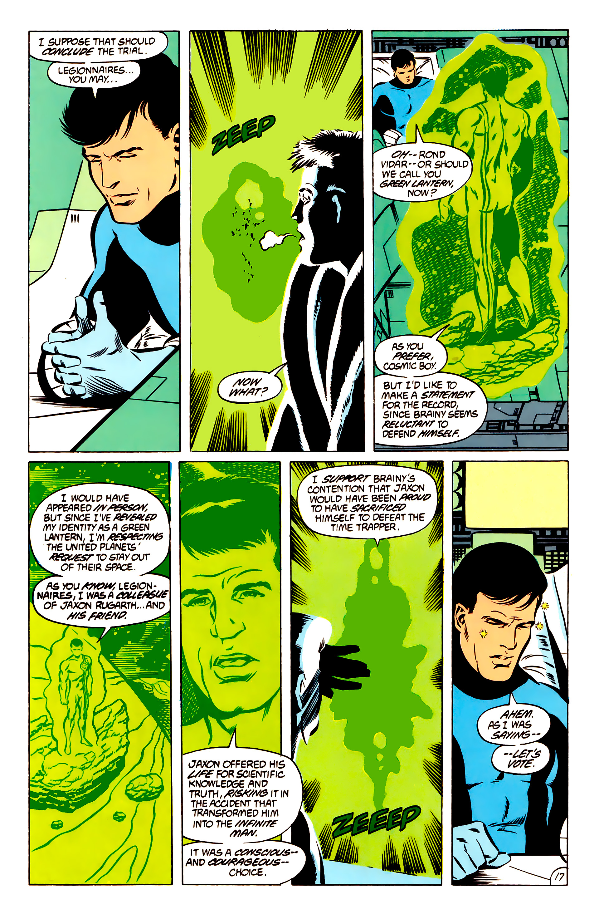 Legion of Super-Heroes (1984) 51 Page 17