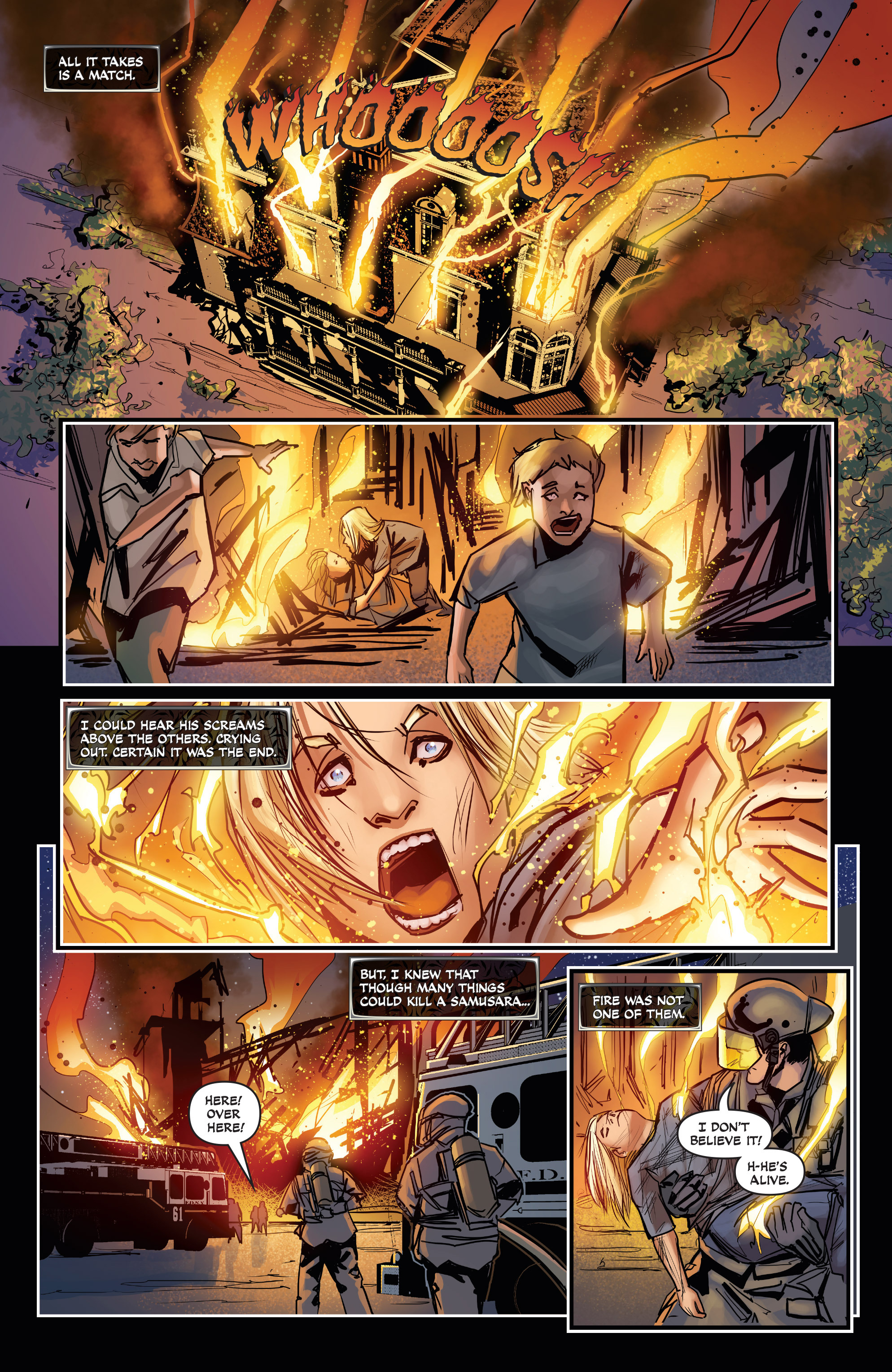 Read online All-New Soulfire Vol. 6 comic -  Issue #3 - 8