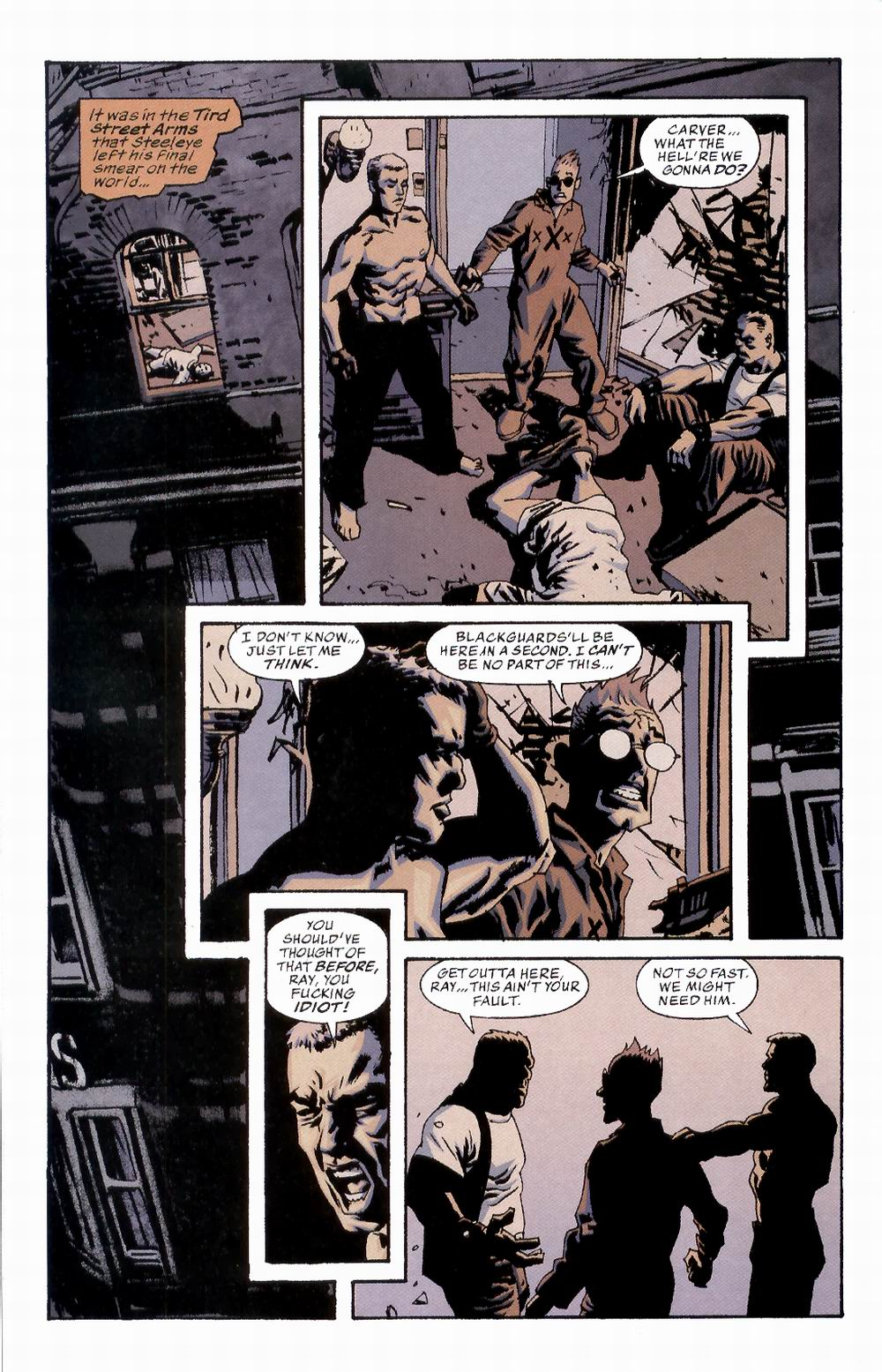 Read online Sleeper comic -  Issue #2 - 10