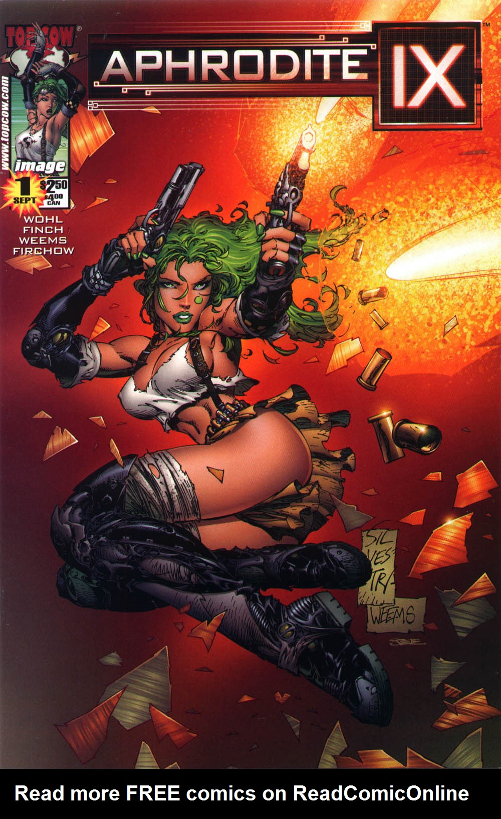 Read online Aphrodite IX (2000) comic -  Issue #1 - 2