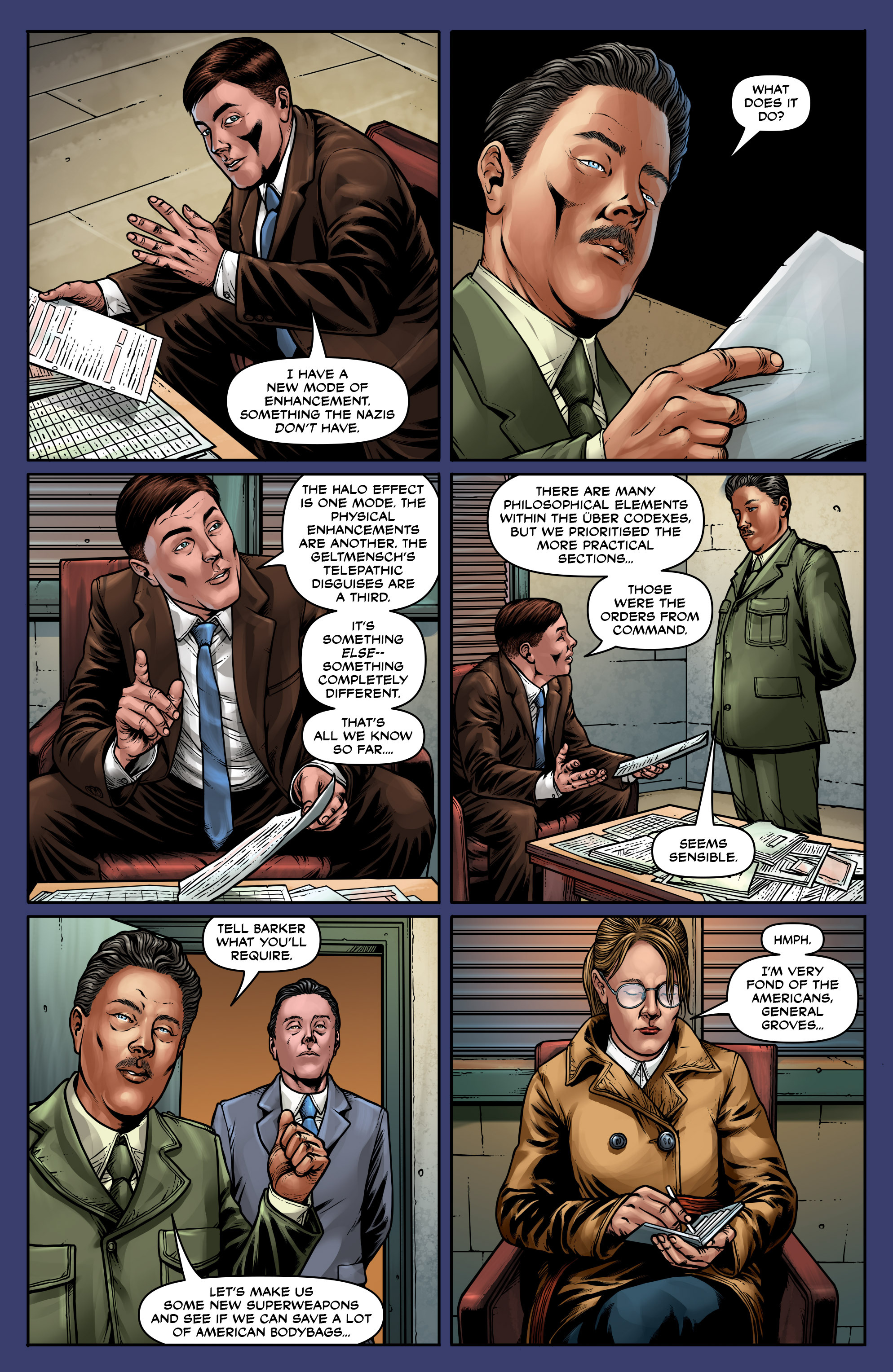 Read online Uber: Invasion comic -  Issue #5 - 7