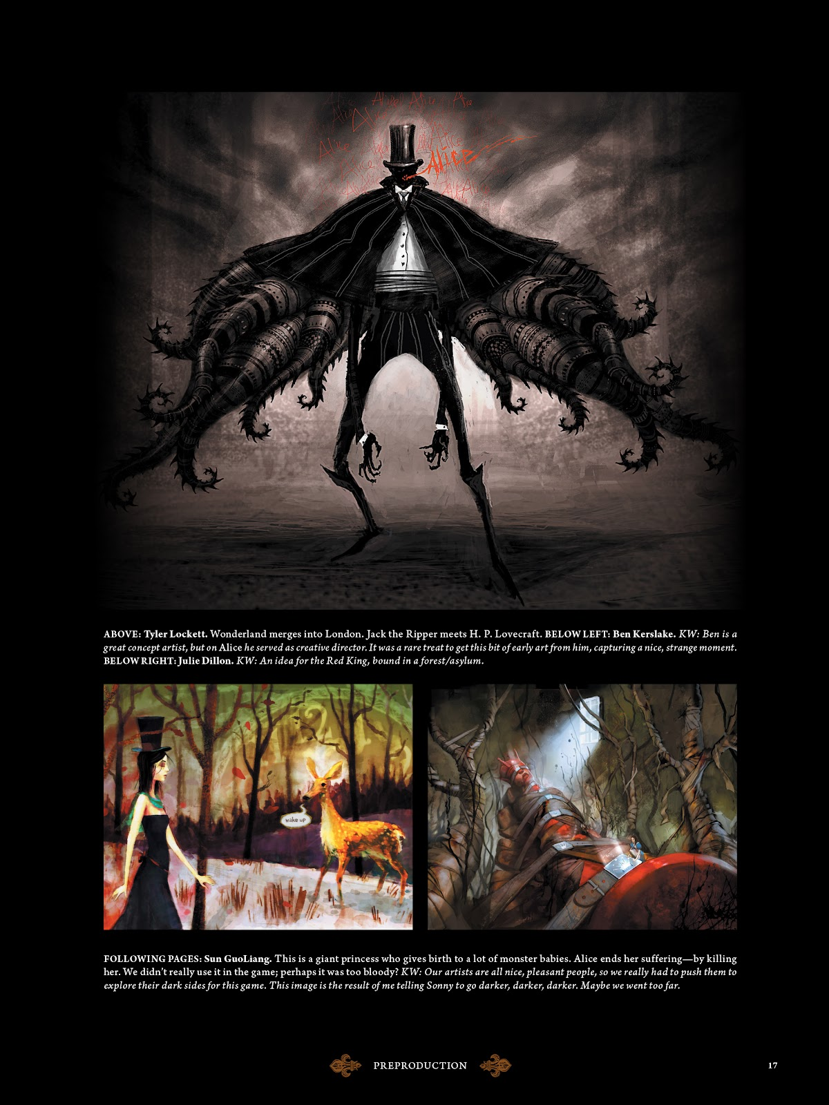 Read online The Art of Alice: Madness Returns comic -  Issue # TPB (Part 1) - 19