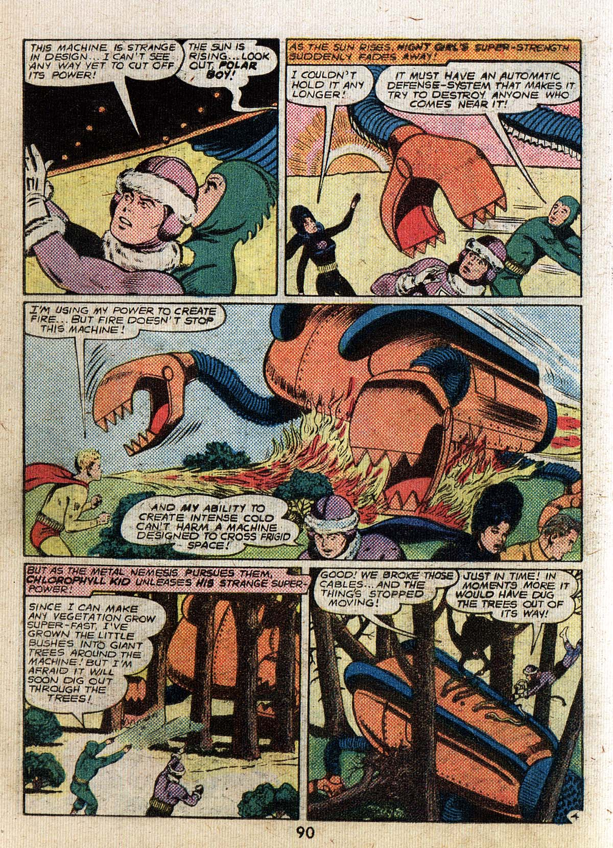 Read online Adventure Comics (1938) comic -  Issue #500 - 90