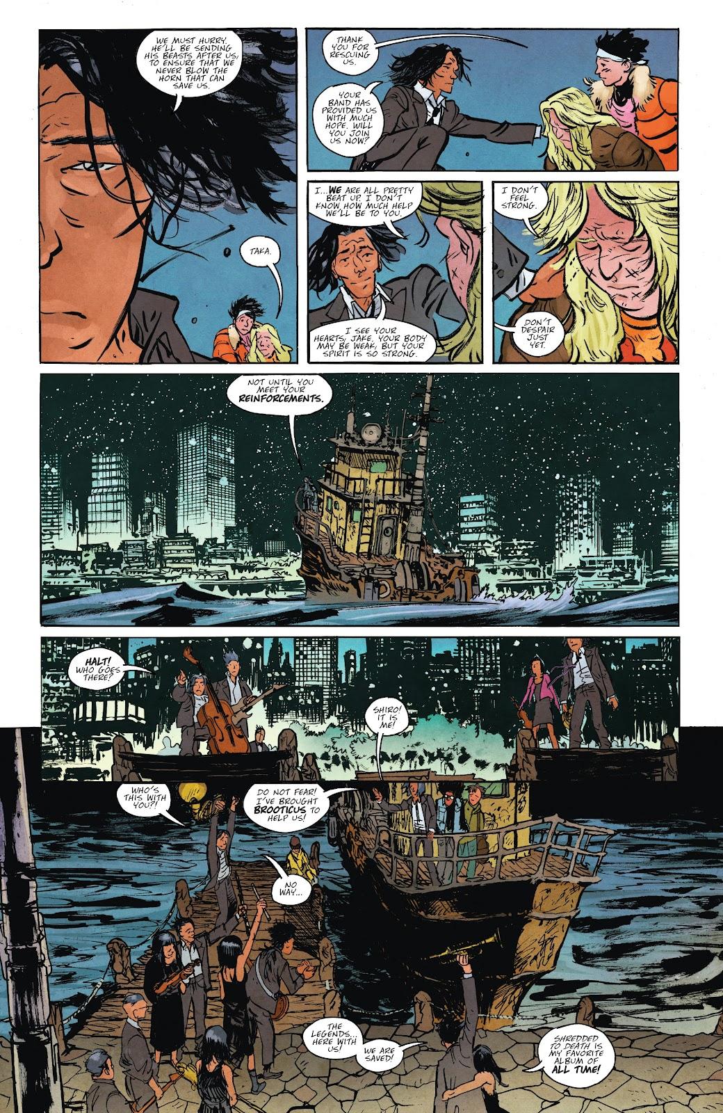 Read online Murder Falcon comic -  Issue #7 - 5