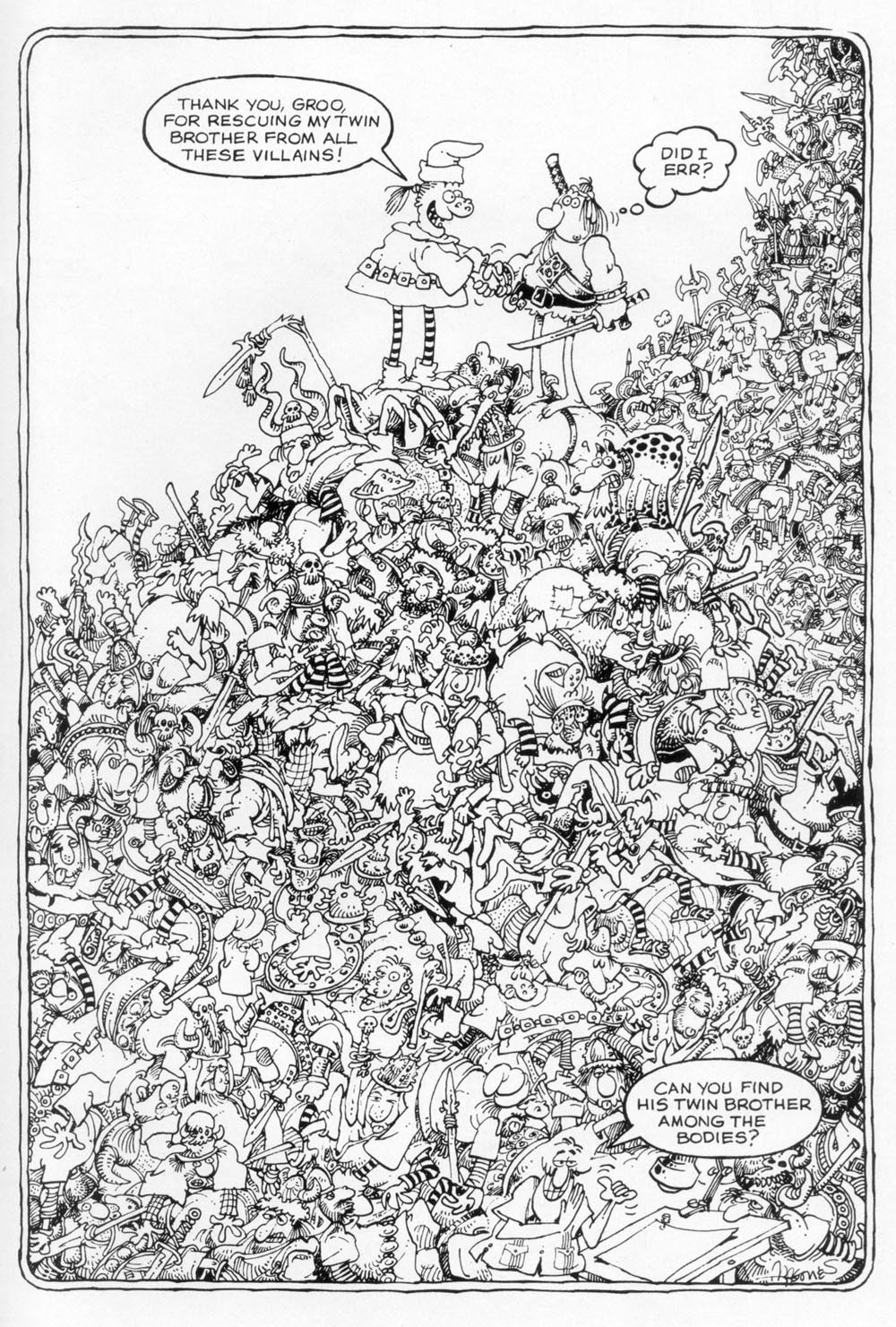 Read online Sergio Aragonés Groo the Wanderer comic -  Issue #92 - 32