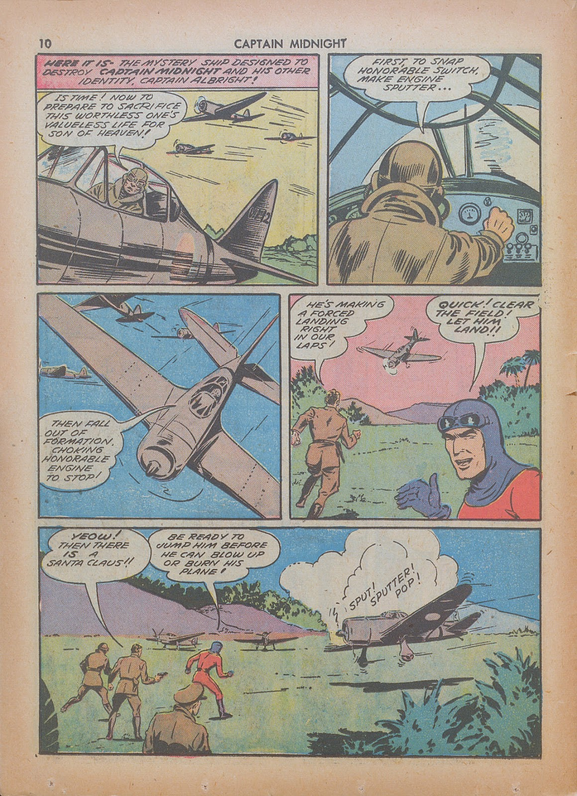 Captain Midnight (1942) issue 7 - Page 10