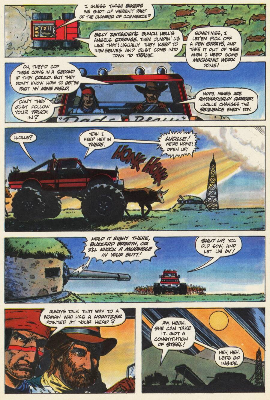 Read online Scout comic -  Issue #9 - 13
