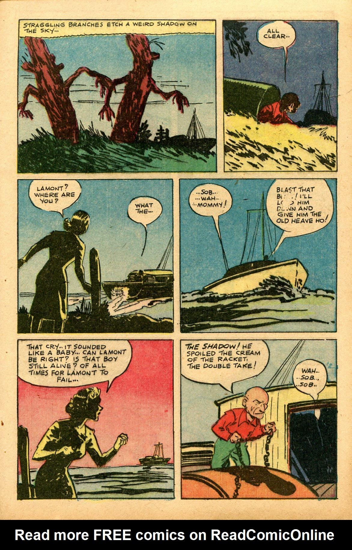 Read online Shadow Comics comic -  Issue #69 - 13