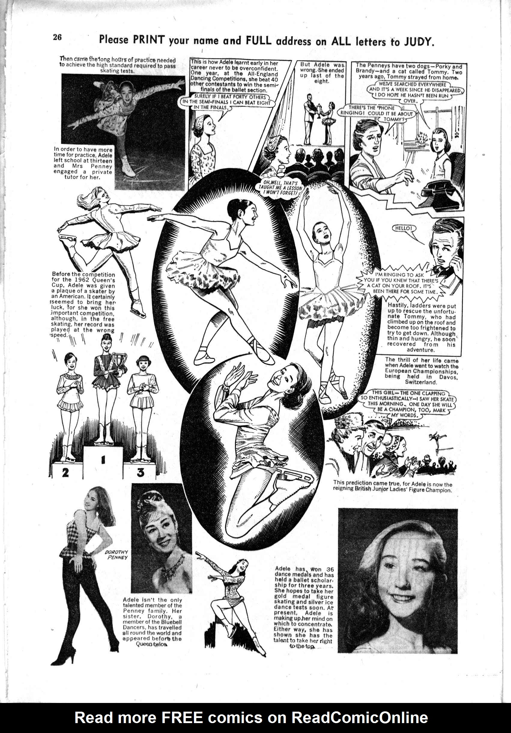 Read online Judy comic -  Issue #193 - 26