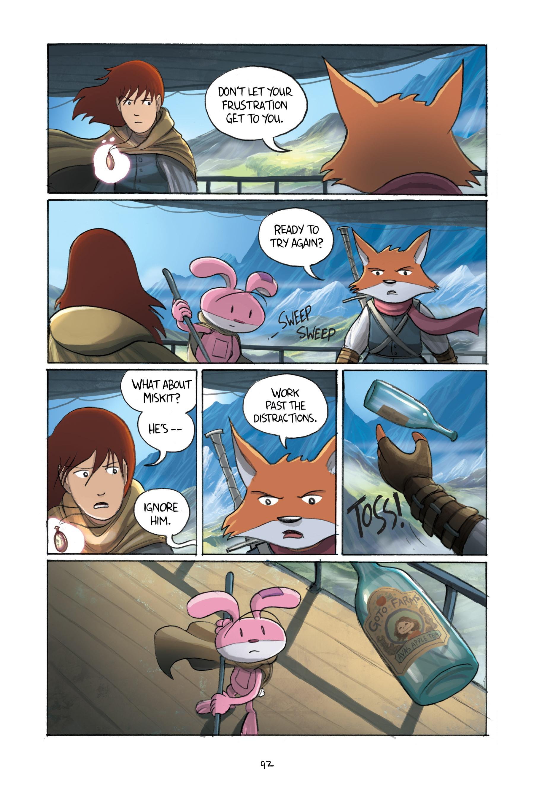 Read online Amulet comic -  Issue #3 - 90