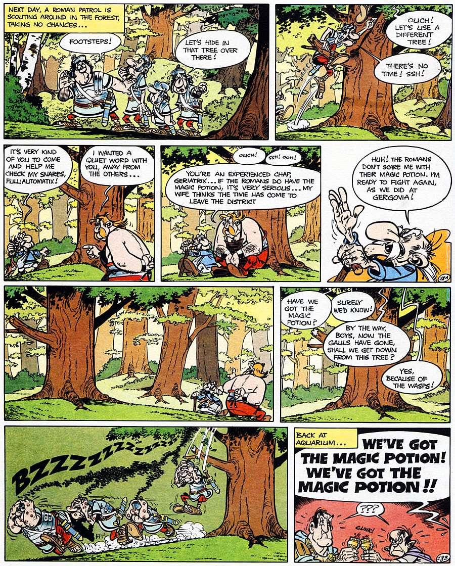 Read online Asterix comic -  Issue #15 - 23