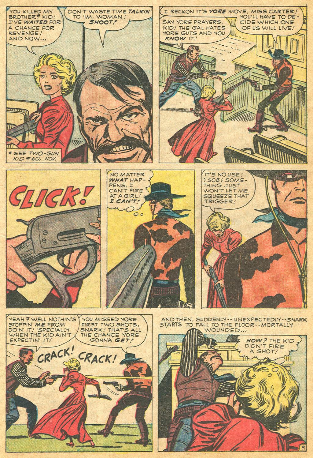 Read online Two-Gun Kid comic -  Issue #61 - 13