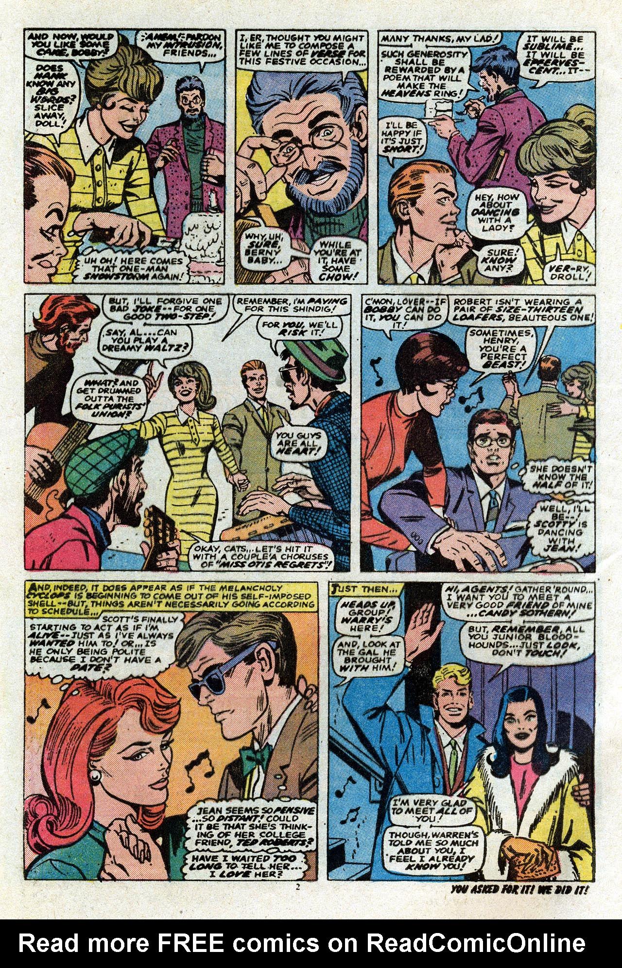 Uncanny X-Men (1963) 80 Page 3