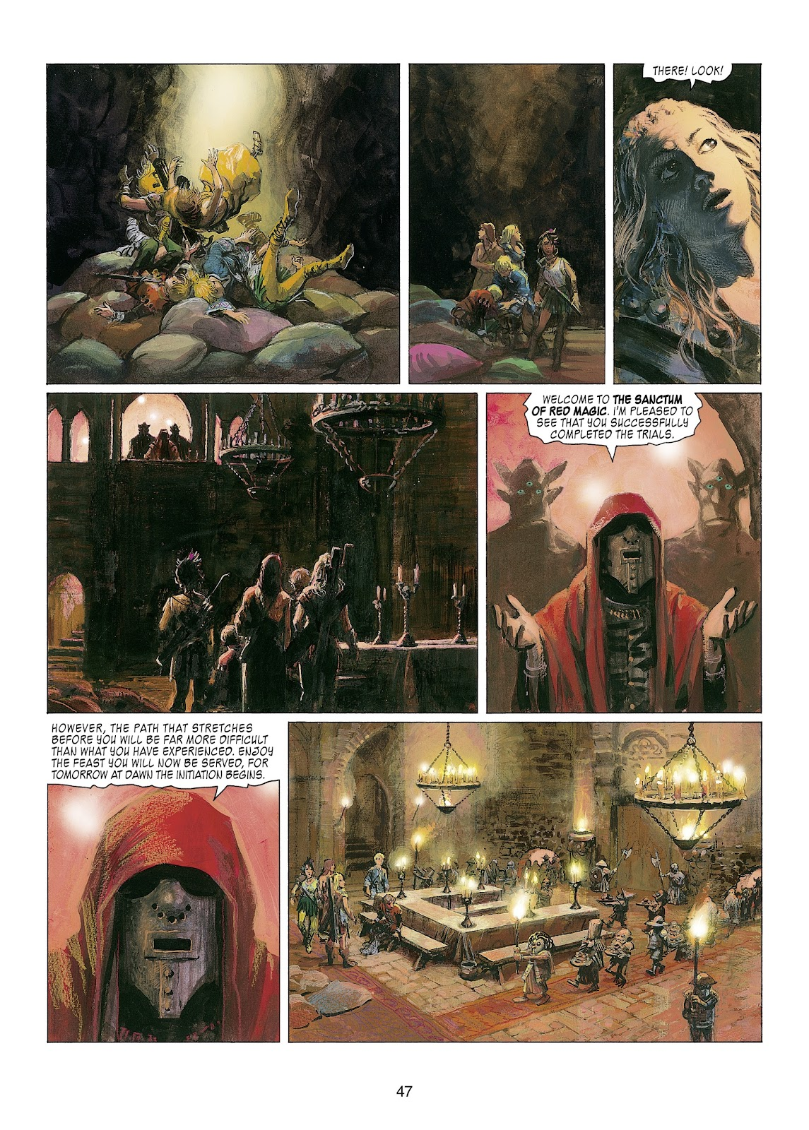Read online Thorgal comic -  Issue #22 - 49