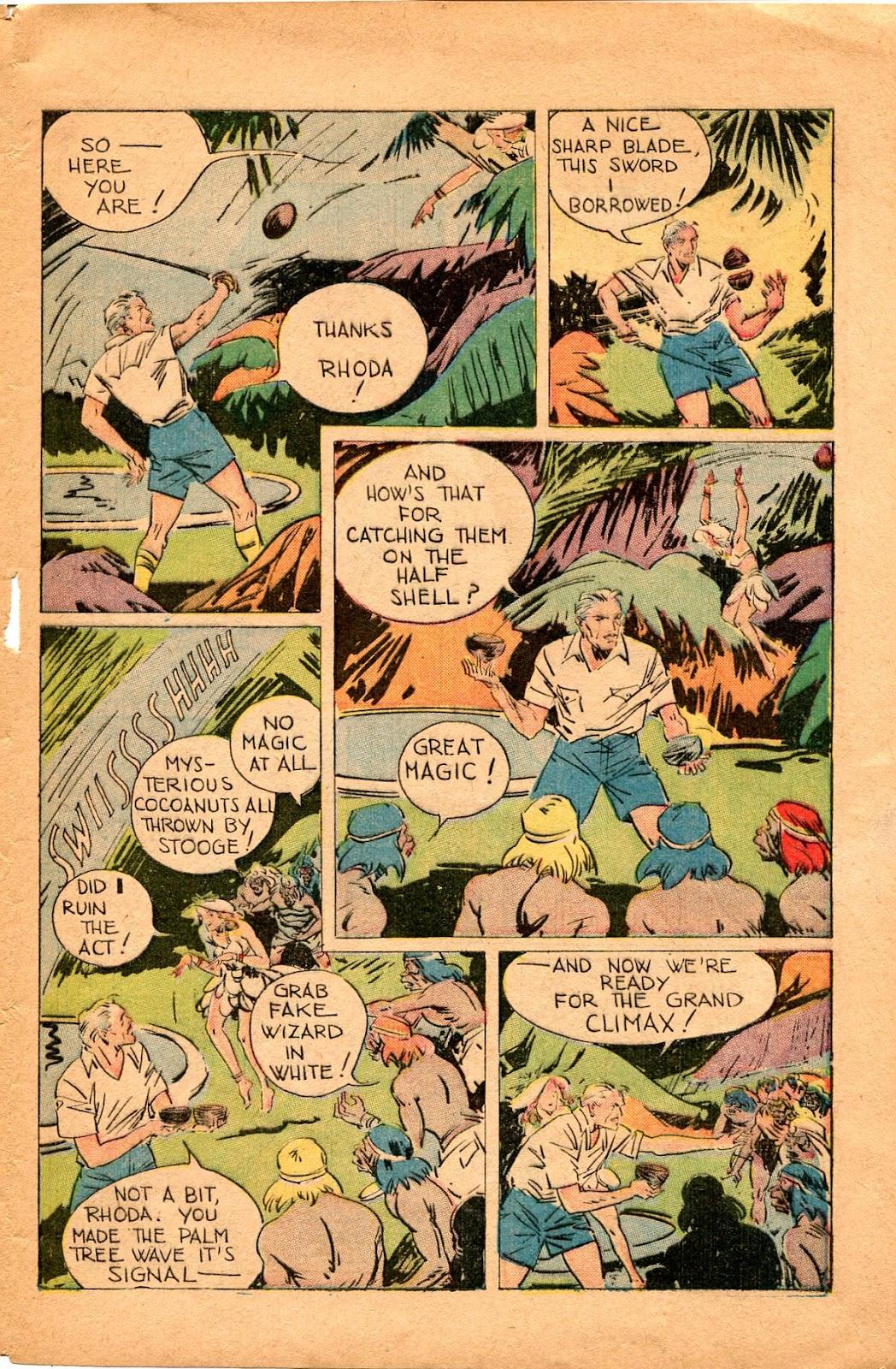 Read online Super-Magician Comics comic -  Issue #34 - 13