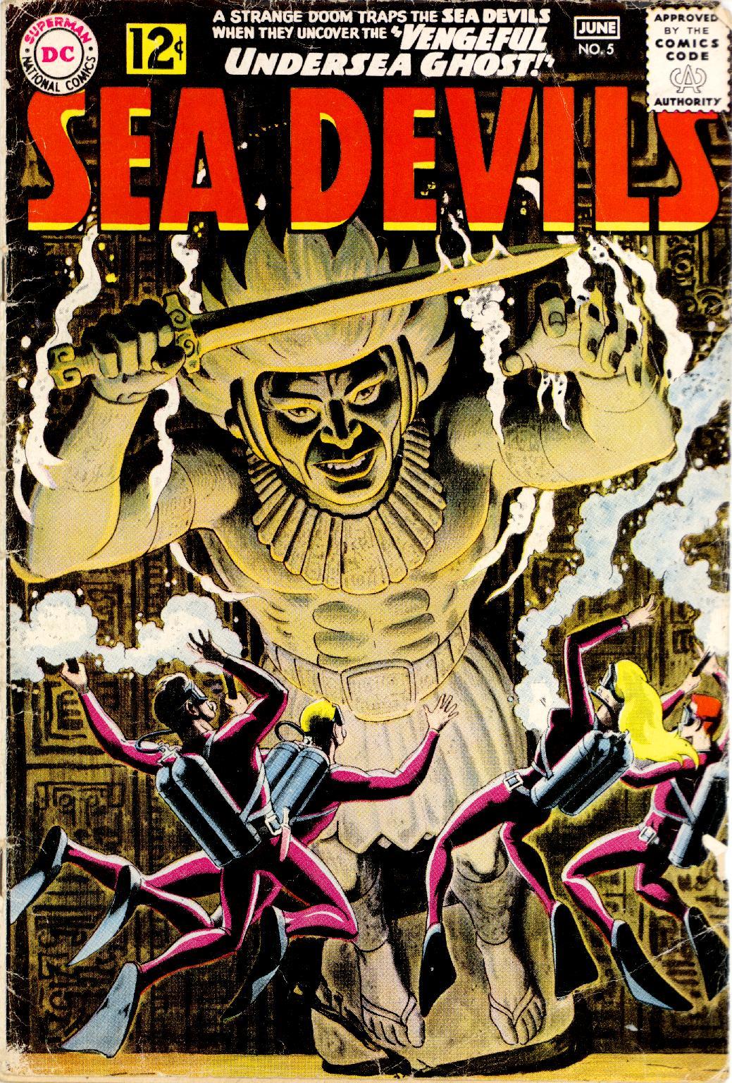 Read online Sea Devils comic -  Issue #5 - 2