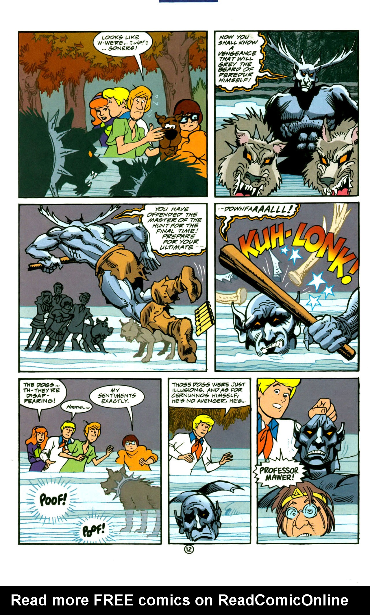 Read online Scooby-Doo (1997) comic -  Issue #4 - 13