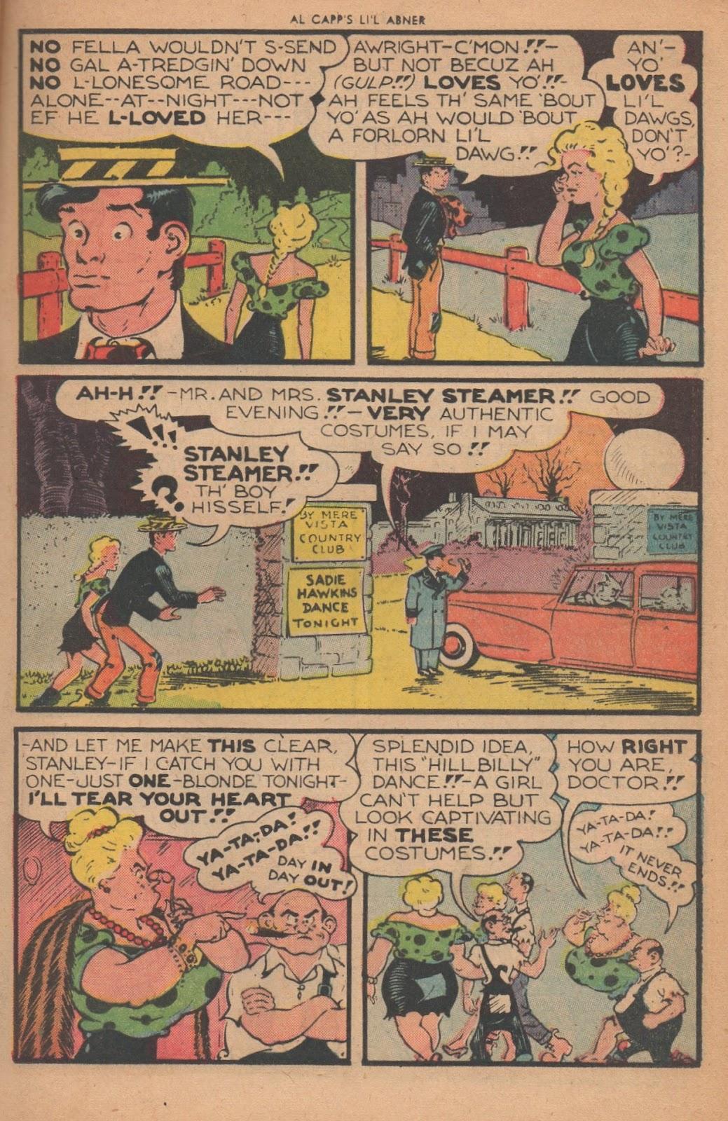 Li'l Abner Comics issue 77 - Page 15