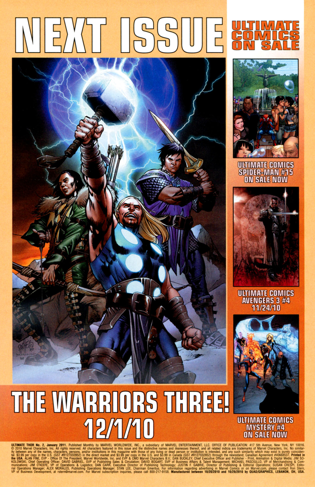 Read online Ultimate Thor comic -  Issue #2 - 26