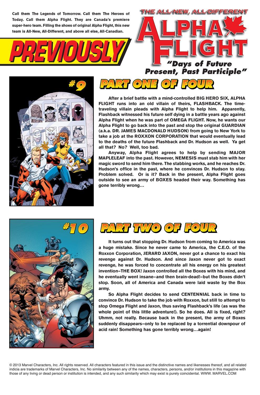 Alpha Flight (2004) issue 11 - Page 2