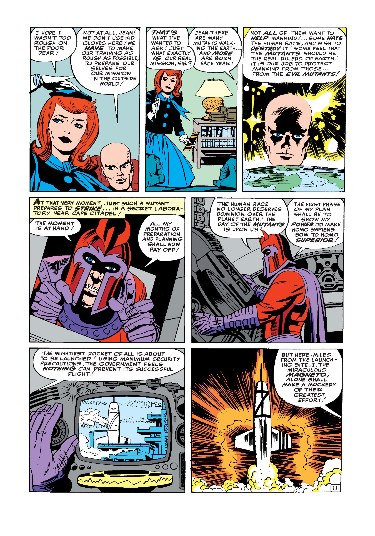 Uncanny X-Men (1963) -1 Page 11