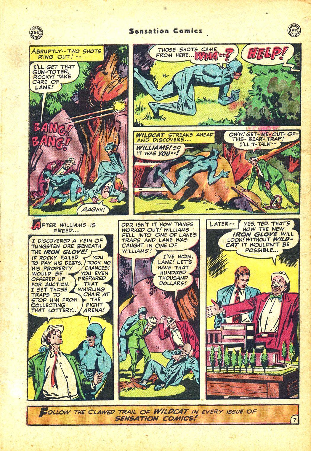 Read online Sensation (Mystery) Comics comic -  Issue #81 - 50