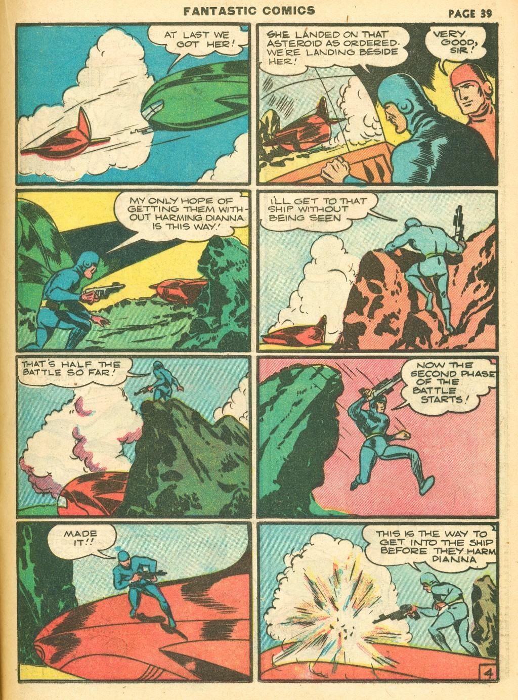 Read online Fantastic Comics comic -  Issue #12 - 41