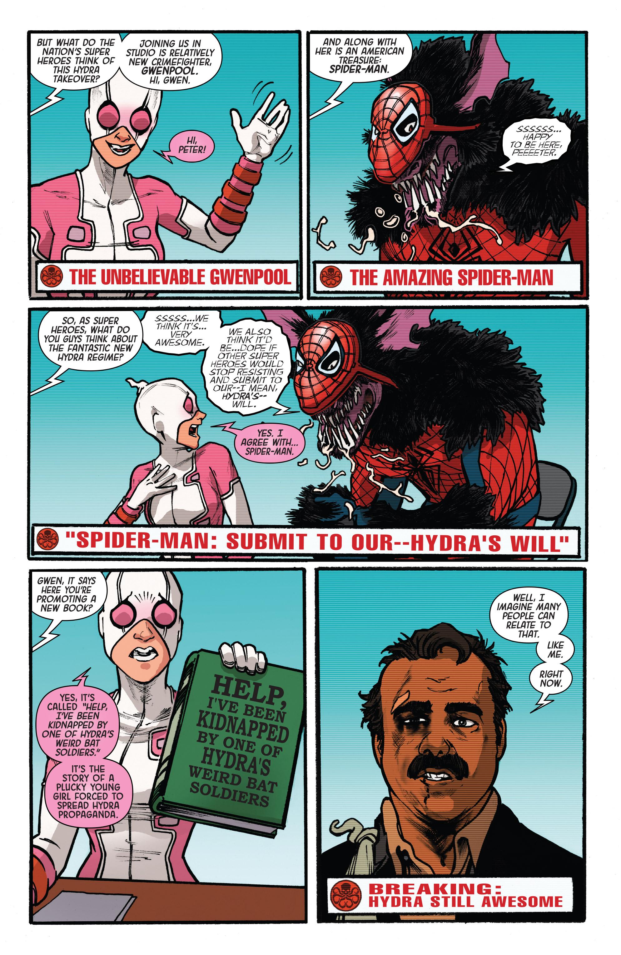 Read online Secret Empire: Brave New World comic -  Issue #1 - 19