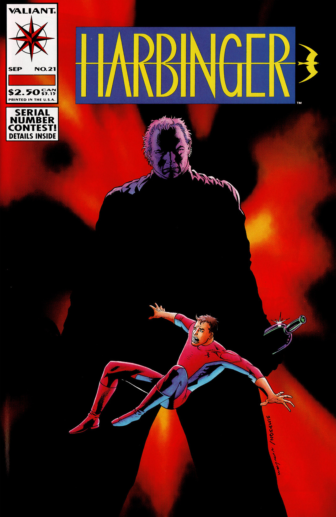 Read online Harbinger (1992) comic -  Issue #21 - 1