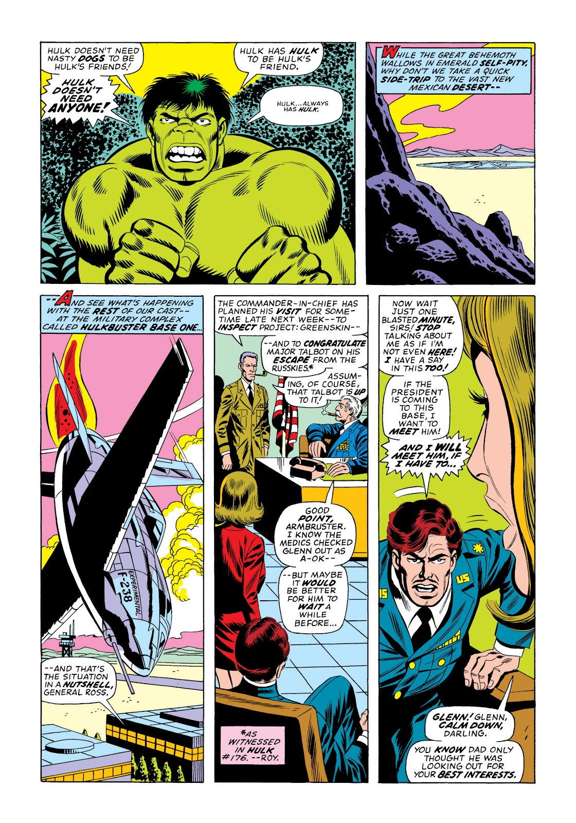 Read online Marvel Masterworks: The Incredible Hulk comic -  Issue # TPB 10 (Part 2) - 91