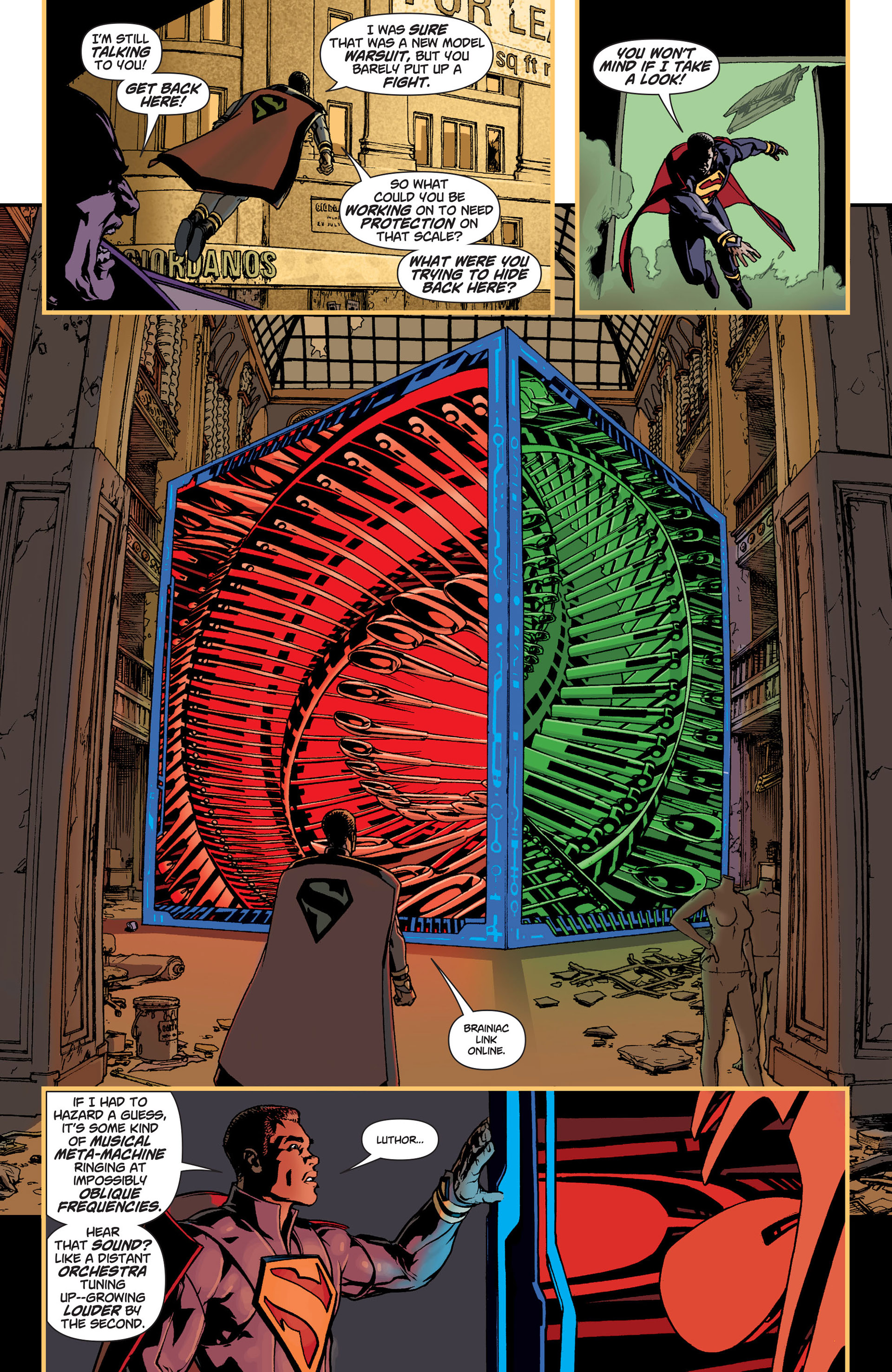 Read online Action Comics (2011) comic -  Issue #9 - 7
